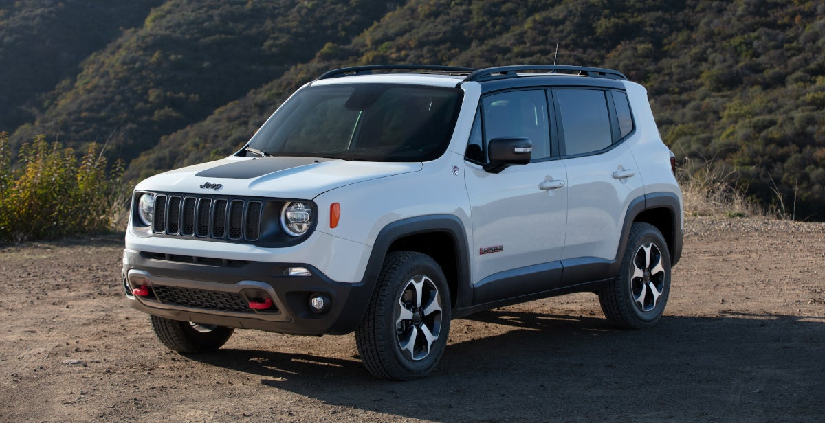 2020 Jeep Renegade Sport Vs Upland Vs Latitude Vs Altitude